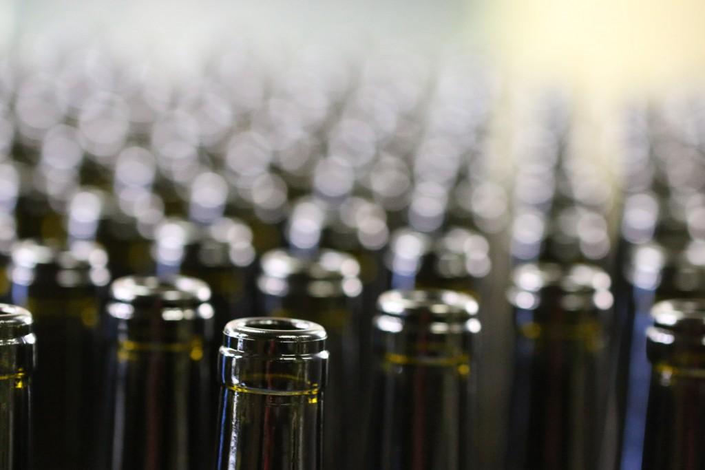 Embouteillage 2 : stock de bouteilles vides propres