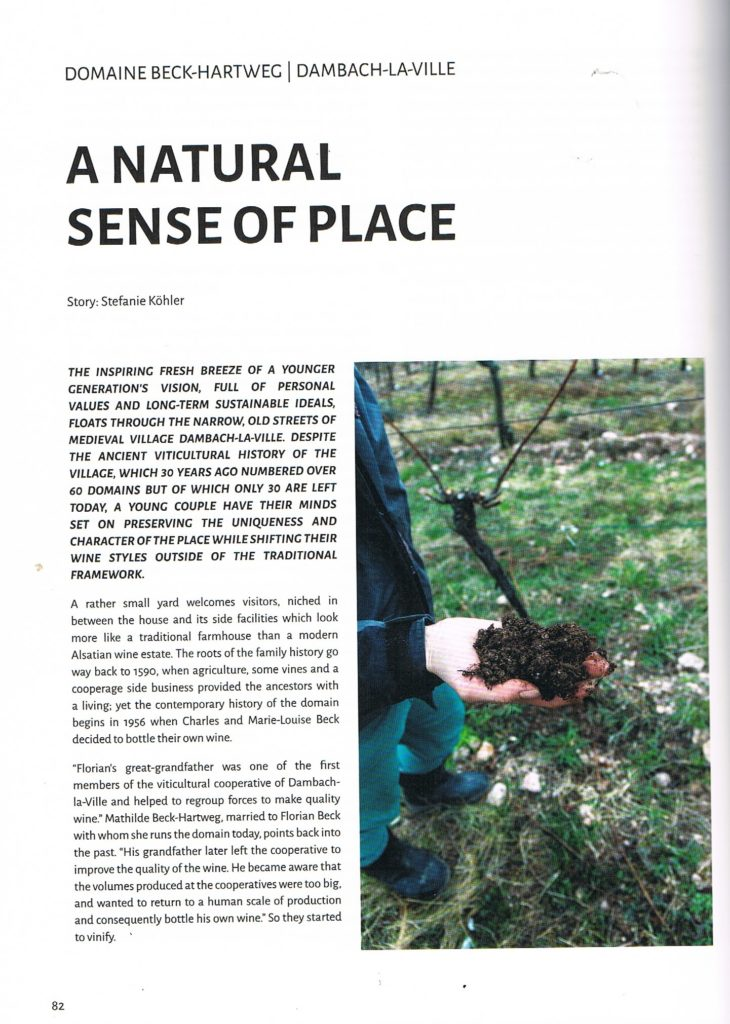 Cuvée Wine Magazine n°4 Alsace